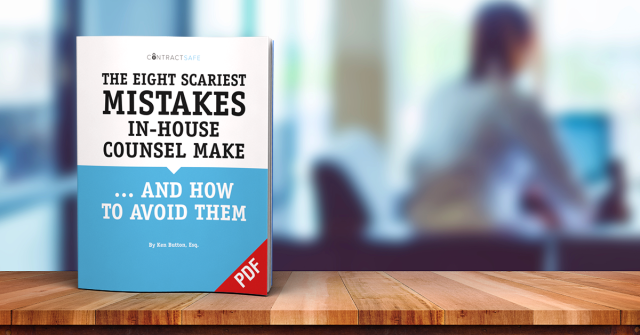 The Eight Scariest Mistakes In-House Counsel Make and How to Avoid Them is a must-read for saving your company time and money.