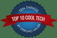Top 10 Cool Tech Badge