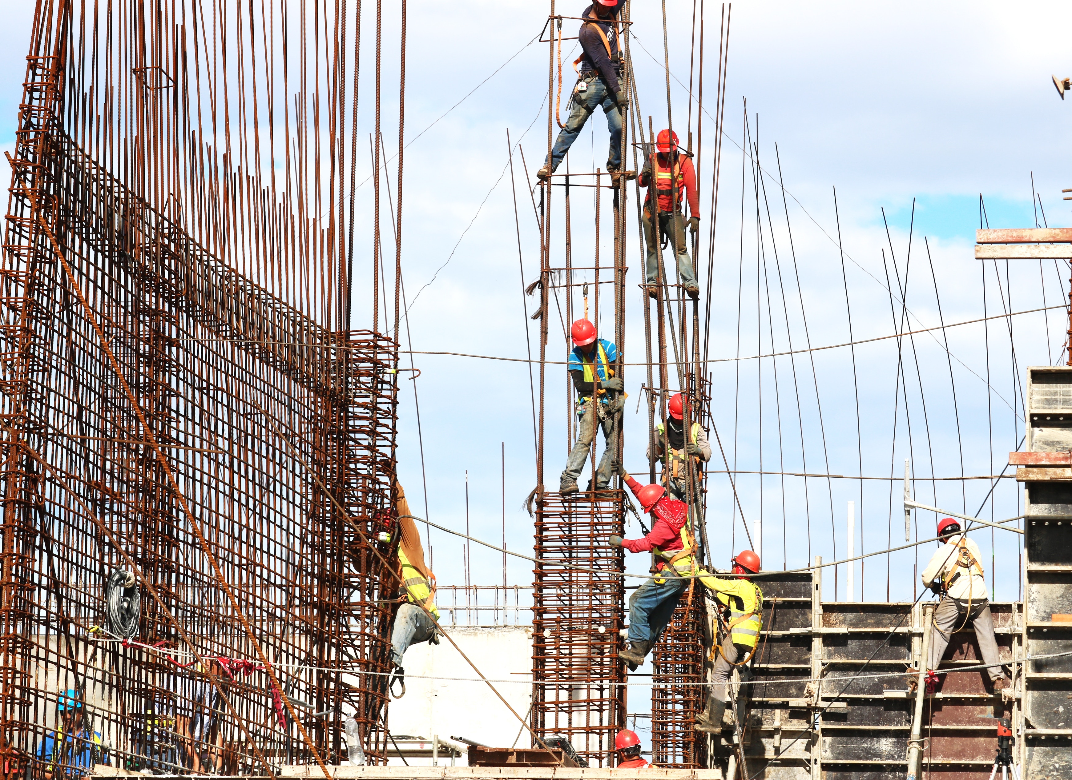 The construction industry relies heavily on contracts.